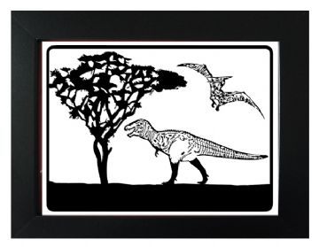 Dinosaur Picture Template